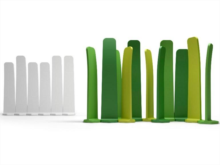 Plust gradient brise vue design blog design luminaire - Brise vue design jardin ...