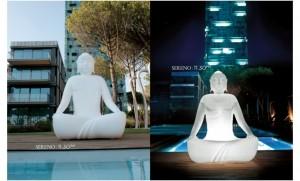 Twentyfisrt Sereno, Bouddha Lumineux XXL