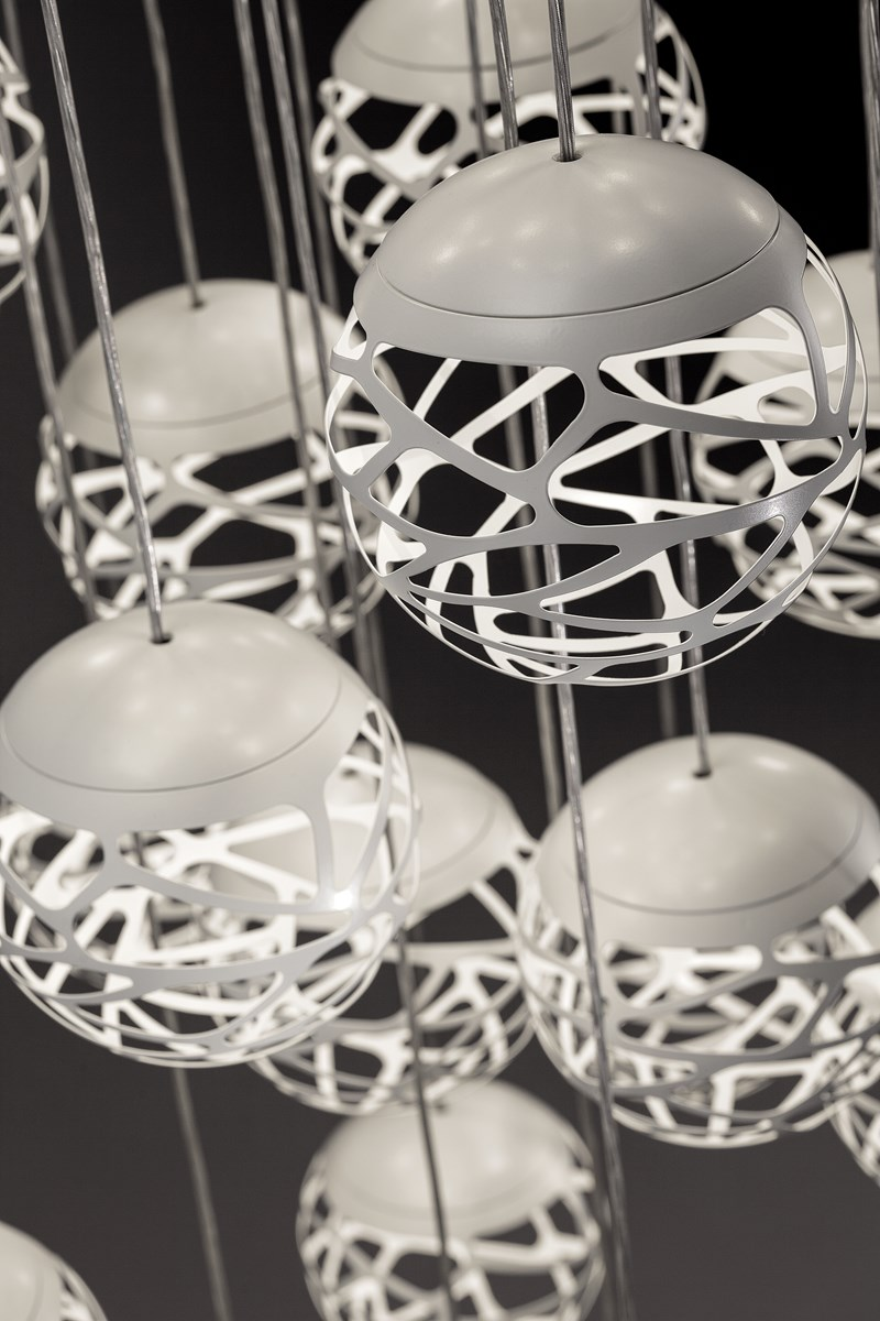 Suspensions studio italia design kelly cluster blog for Luminaire suspension design