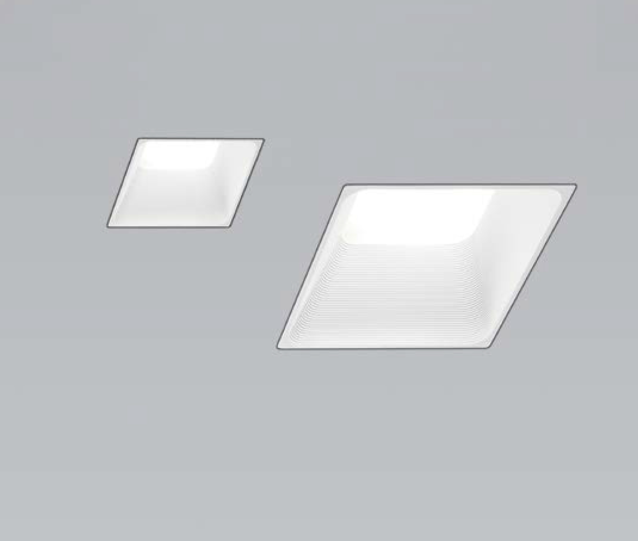 Icone luce darma spot led design encastr et apparent for Spot design plafond
