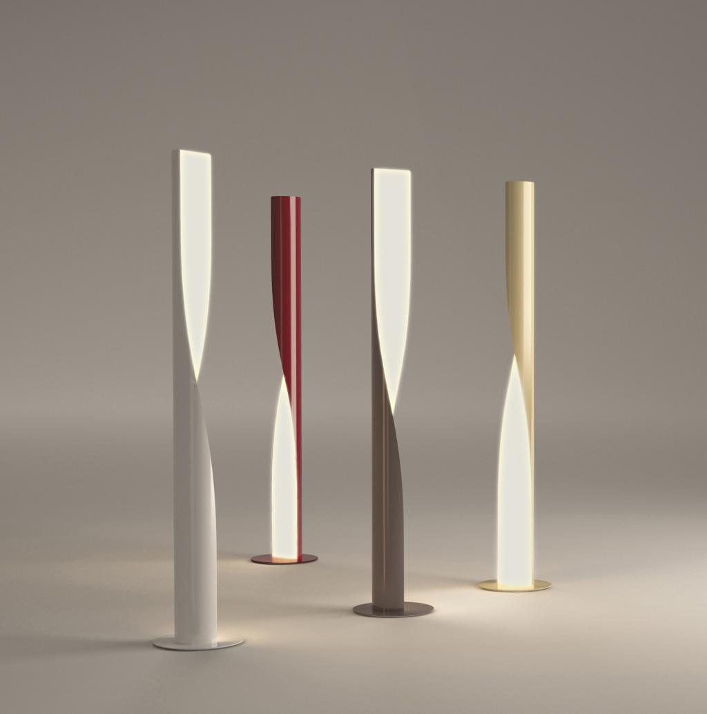 lampadaire design tube
