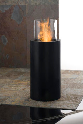 planika fire totem commerce colonne de feu bio ethanol design. Black Bedroom Furniture Sets. Home Design Ideas