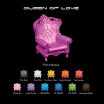Fauteuil Design of Love Queen of Love Belgique et France www.andeo-shop.com