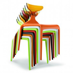 Chaises Green Punk
