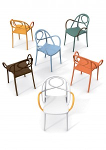 Chaises Green Etoile magasin Andéo Belgique et France