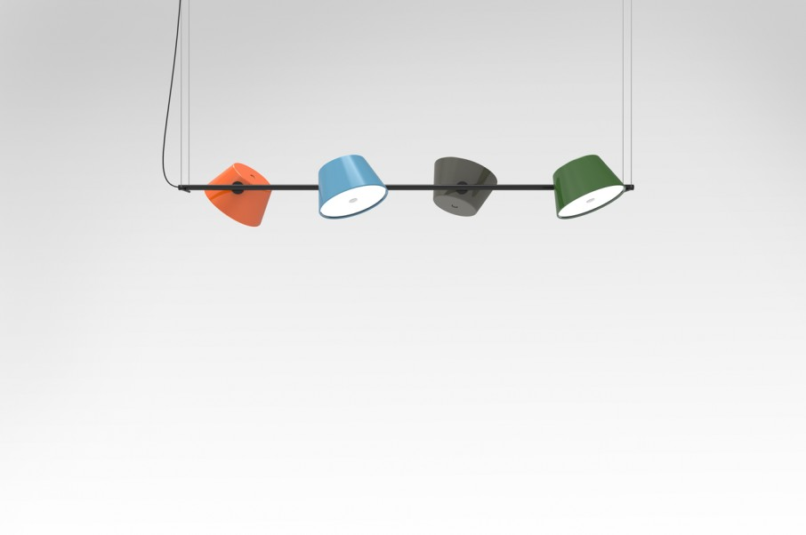 marset tam tam 4 une suspension longue originale qui fera du bruit. Black Bedroom Furniture Sets. Home Design Ideas